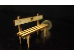 Tiny bench