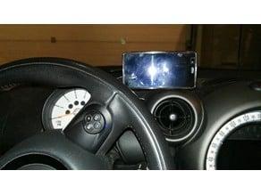 Customizable phone mount MINI Countryman - ball join