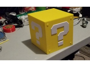 Mario Item Block Lamp