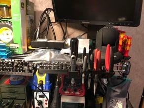Wire Shelf Workbench Tool Holders