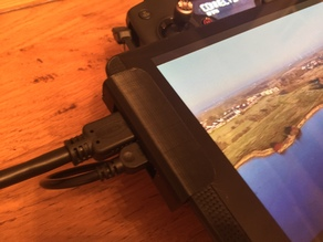 NVIDIA SHIELD MOUNT CLIPS FOR HDMI OUT AT DJI MAVIC PRO REMOTE