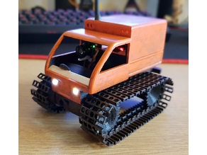 Tiny Tracked Truck - Inspired by Tiny FPV Tank/Tiny Trak