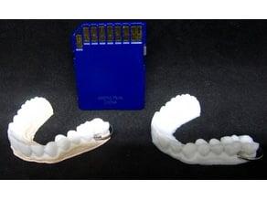 Dental Teeth Keychain
