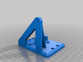 60mm  ANET A8 |  E3D v6 clone Carriage /  Bowden Mount