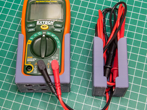 Extech EX330 Multimeter & Lead Wall Mount