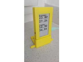 TTGO T5 E-paper Display Case with Stand