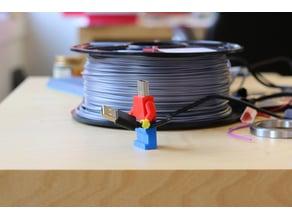 Multi-Color Lego Figure USB Drive Case