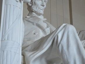 Lincoln Statue in Lincoln Memorial