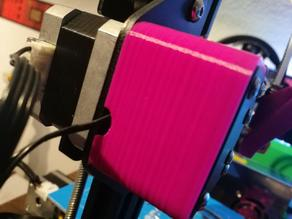 Perfect X axis stepper pulley cover for Ender 2