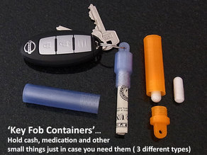 Key Fob Containers