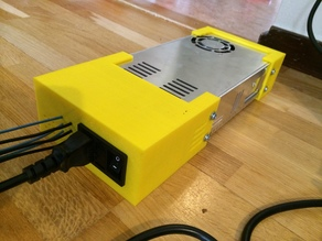Case for MeanWell SP320 (24 V) power supply