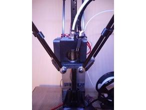 E3D v6 Effector for Micromake Delta Kossel
