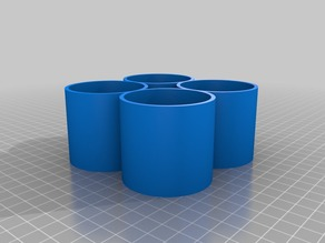 3D Printer chem bottle holder
