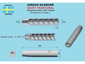 Silencer shortened 22