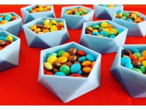 Candies-Jewelries-Screws - 5 edges box