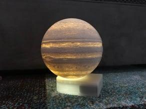 Jupiter lamp base