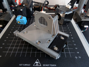 Cart X-Axis Anet A8 with Bondtech BMG and V6