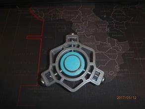 Bolt Halo Fidget Spinner - Wingnut2k #7