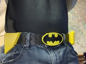 Batman's 3D Printed Utility Belt