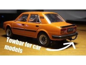 Towbar for 1:43 car models