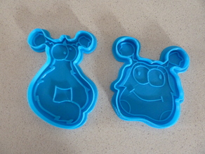 Zig & Zag cookie cutters, by LeHof