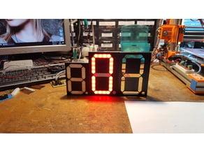 7segment LED display 120mm