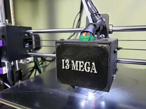 Anycubic I3 Mega Hot End Cover Label