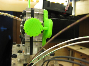 Click Stop for Mk 6+ extruder tensioner ( 3mm filament)