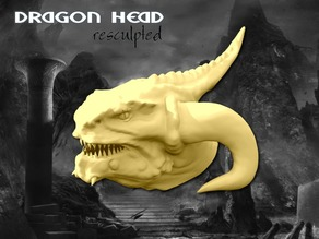 Dragon Head Sculpt(45mb)
