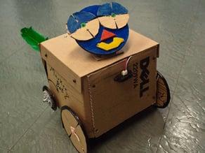 Markerbot IR Reader Robot