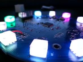 5050 RGB LED Diffuser Cap