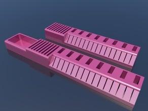 USB, SD, MicroSD holder with tray & fix