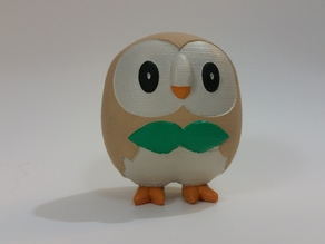 Rowlet - Pokemon Sun & Moon Grass Starter