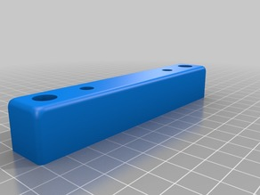 Printer Feet for Voxel printer using 80mm x 20mm Linear Rail from Open Builds