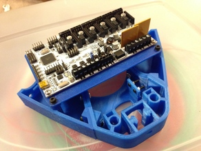 """RUMBA Mount for """"3DR Simple"""" 3D Printer"""