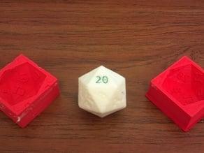 Oogoo D20 Die Mold