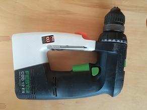 FESTO cordless drill CDD 12 battery holder