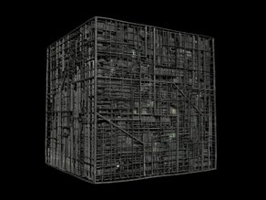 Star Trek - The Next Generation Borg Cube