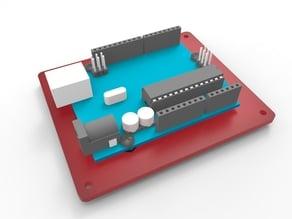 Simple Arduino Uno Baseplate