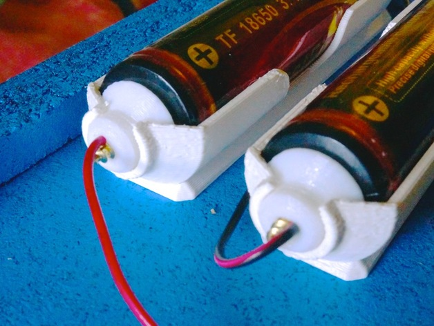 18650 Lithium Cell Battery Holder