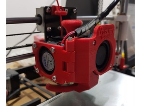 Anet A8 Extruder Fan Modification (door)