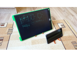 Simple tablet & mobile stand