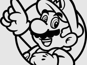 Mario badge