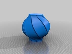 Spiral vase collection IMLEK chinese new year LAMPION Lantern
