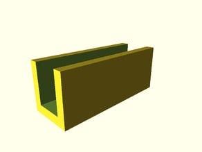 Parametric Heatbed Bracket
