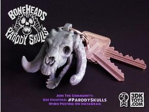 CozySkull SkullCharm of 3DKToy's PARODY SKULLS