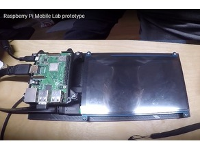 Raspberry Pi Mobile Lab
