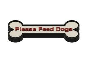 Feed Dog sign