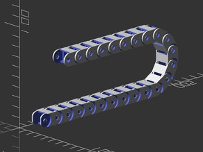 Fully Parametric Cable Chain