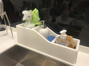Sponge and Soap Dispenser Holder